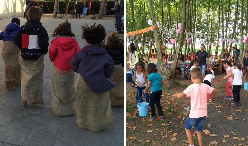 Jocs Populars I Bombolles De Sabó, Activitats Per Una Festa D'aniversari